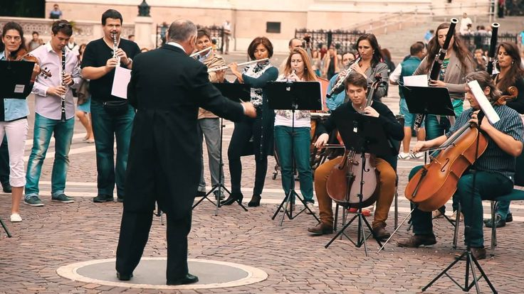 Budapest symphonic flash mob // Concorde 20