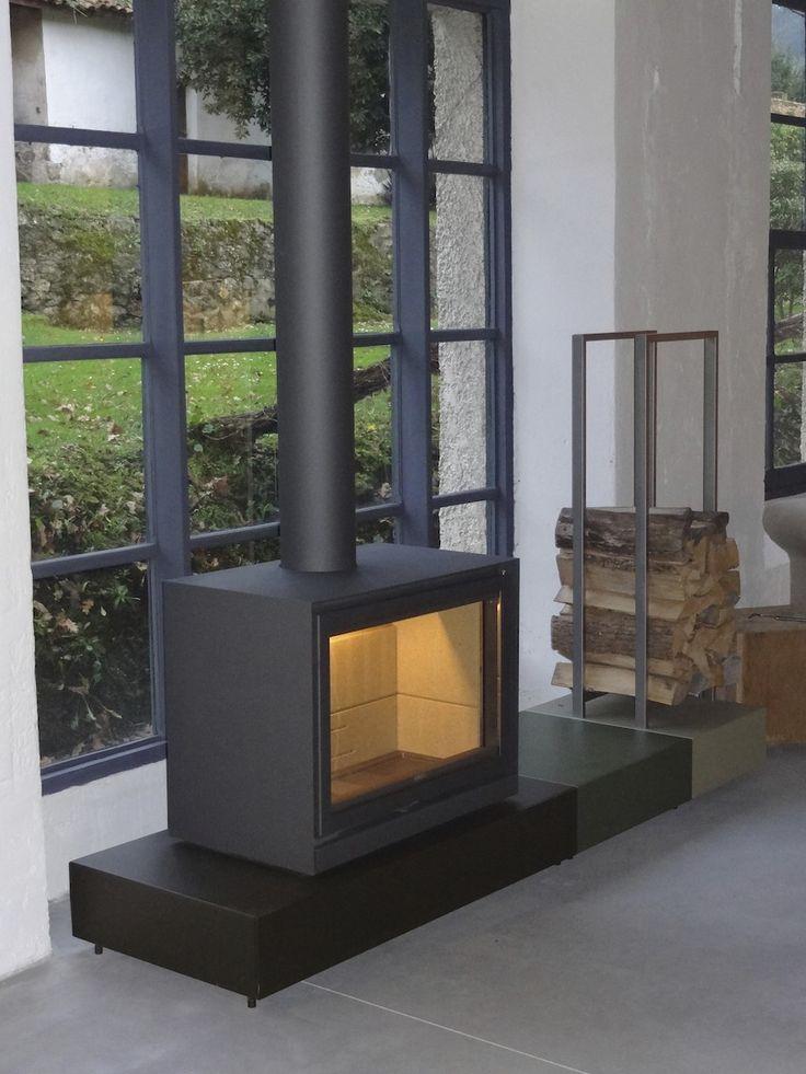 M s de 25 ideas incre bles sobre estufas modernas en - Estufas para casa ...