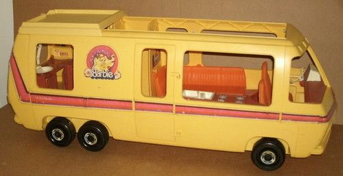 Barbie Star Traveler Rv Bus Gmc Motor Home 1980 S Barbie