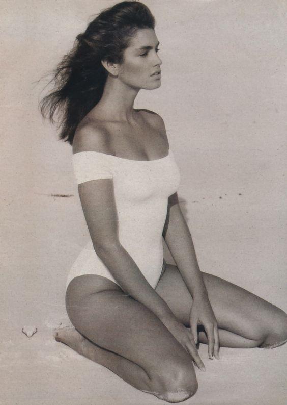 Beatuiful shot of Cindy Crawford.