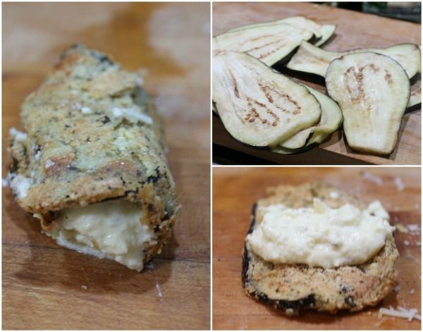Here are the steps to making the eggplant rolls in the eggplant rollatini recipe - restlesschipotle.com