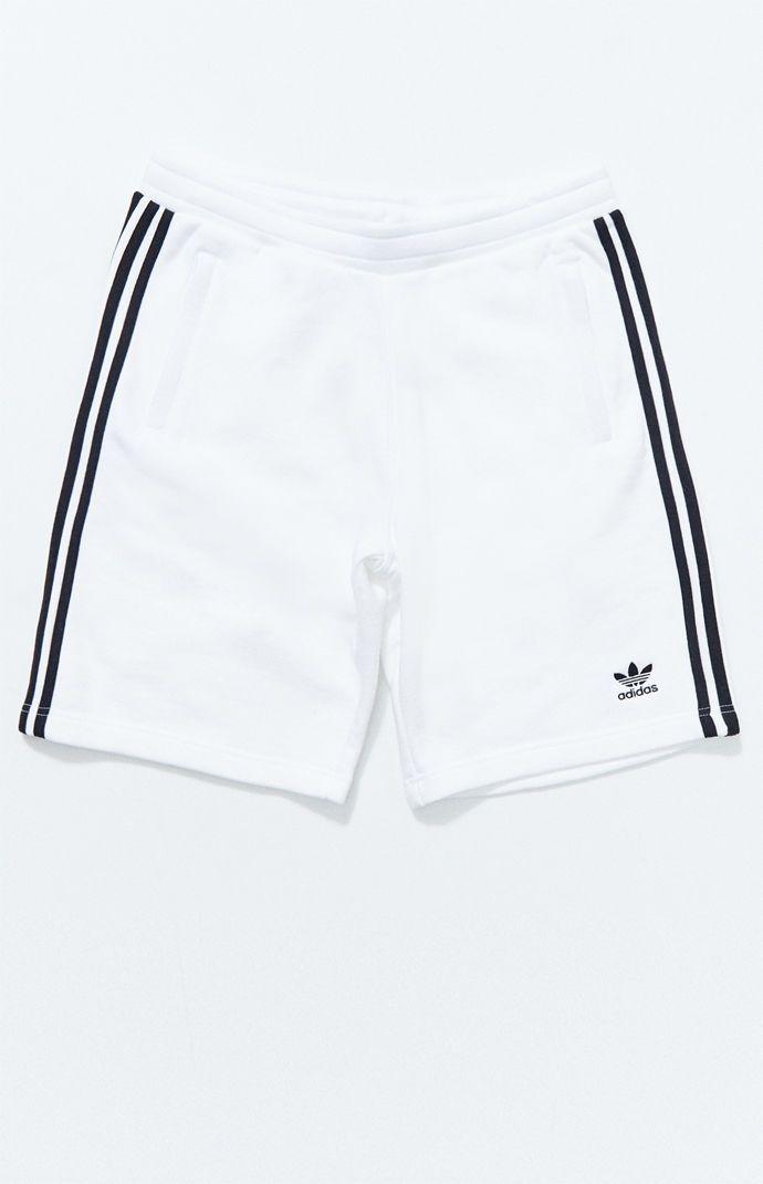 progenie cocaina Comprensivo  adidas White 3-Stripes Active Shorts   Active shorts, Adidas shorts women,  Mens white shorts