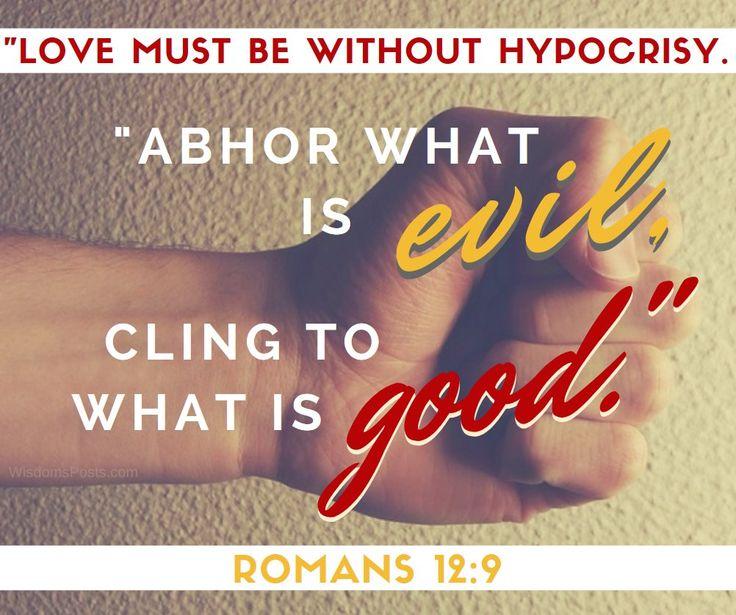 Romans 12:9