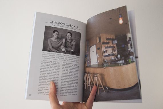 Espresso Tales Magazine Volume 2 a by EspressoTalesMag on Etsy - Common Galaxia Cafe in Melbourne) #coffee #cafes #Melbourne #magazine #publishing #Photography