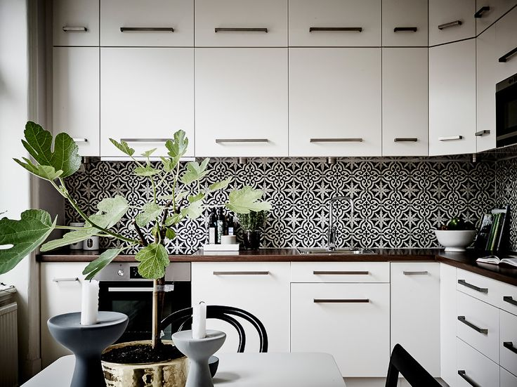 Six ideas for kitchen splashbacks | Kitchens, Kitchen dining and Dining