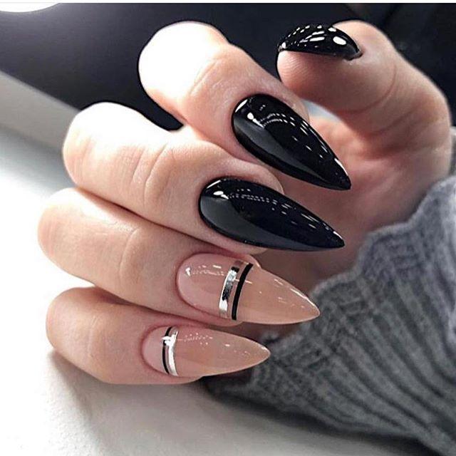57 Mejores Disenos De Unas En Tendencia 2020 Minimalist Nails