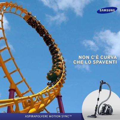 Agile, stabile e scorrevole, ti segue ovunque! Aspirapolvere #Samsung
