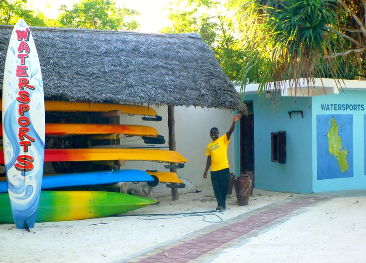 Our water-sports centre
