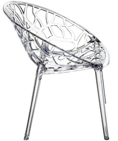 Ciekawe meble: krzesło Crystal, Siesta