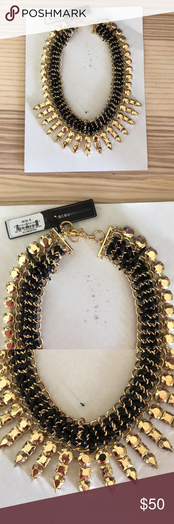 Brand new with tags. BCBG Spike Necklace Brand new BCBG Spike Necklace. BCBG Jewelry Necklaces