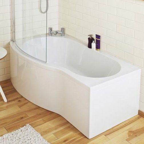 150cm x 90cm Freestanding Whirlpool Bathtub