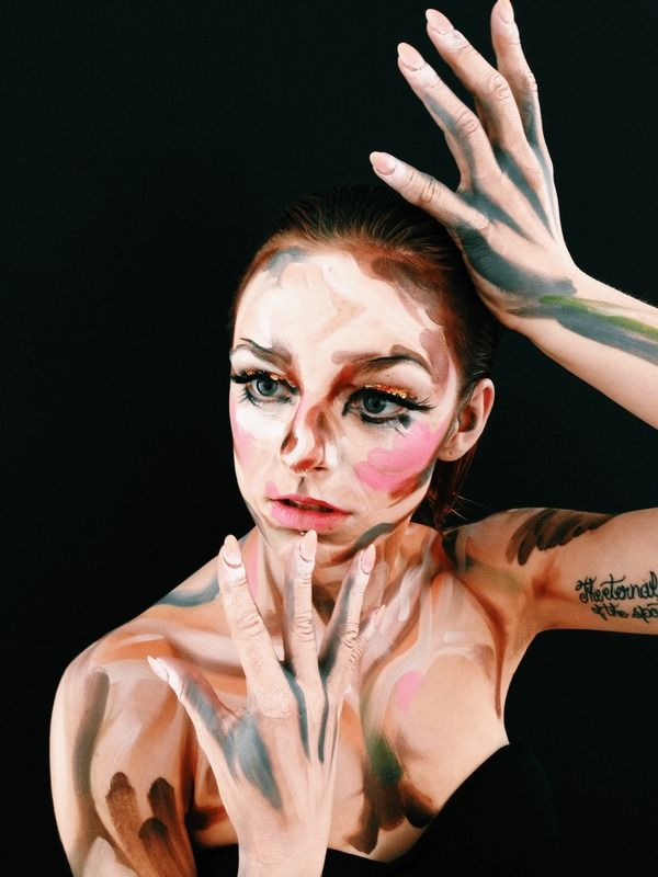 An Insight into the DFMA Makeup Academy Course  - Hi there! You may remember me from a blog post two months ago— I was the girl with the trompe l'oeil plastic-face makeup who won Lisa's contest. I'm writing to you from a café in Fulham the day after my graduation from Davini...