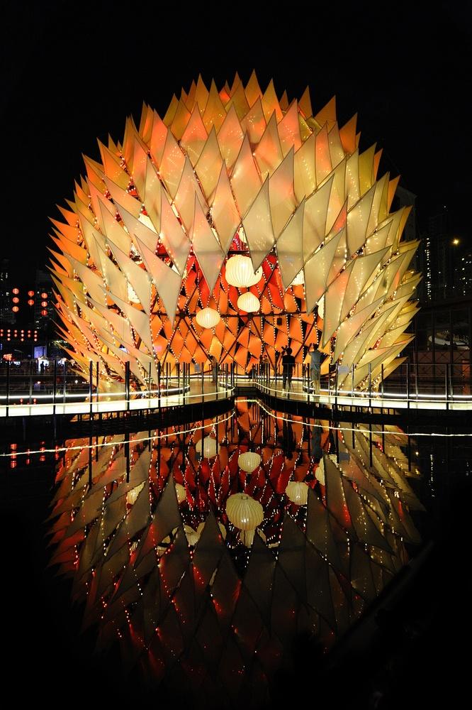 Golden Moon Pavilion architect LEAD