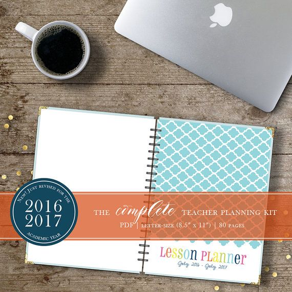 The Complete 2016-2017 Teacher Planning Kit by TrewStudio on Etsy