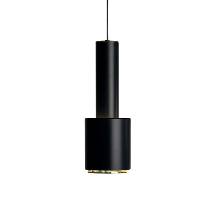 A110 pendel - A110 pendel - svart, mässingsring