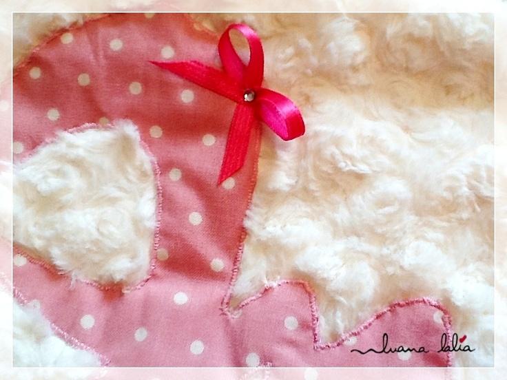 mantas personalizadas - luanalalia