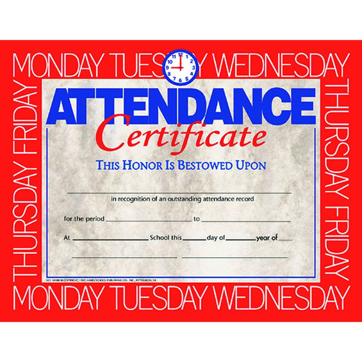 Best 25+ Attendance certificate ideas on Pinterest Certificate - merit certificate comments