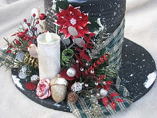 Stars 'N' Sparkles, Blooms 'N' Bling: Snowman Hat  from Coffee Canb