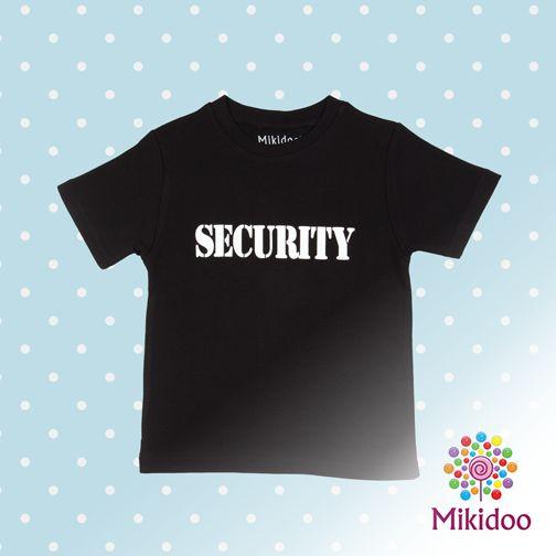 Mikidoo.com'dan alacağınız bu tişörtle minik korumanız hep yanınızda! :)  https://www.mikidoo.com/SECURITY-ERKEK-COCUK-TISORT-d159