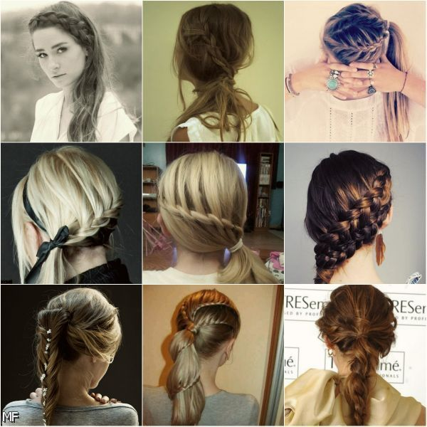 Prom Hairstyles For Long Hair With Braids And Curls 2015-2016   Moda 2014-2015