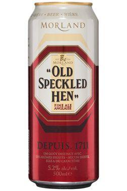 Une bière ambrée qui plaira à un assez large éventail d'amateurs: la Old Speckled Hen. Servez-la avec des #ailes_de_poulet lors d'une soirée #football. Succès garanti! #biere #OldSpeckledHen