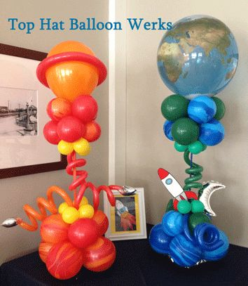 planets party balloons - photo #9
