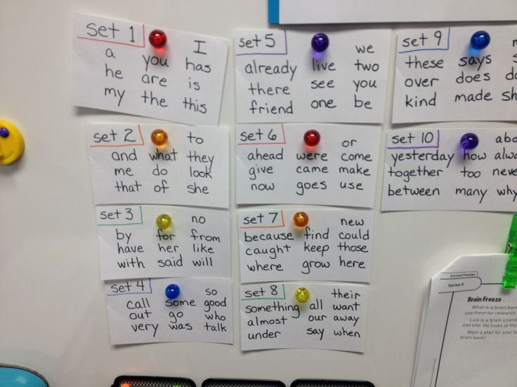 System 44 sight words