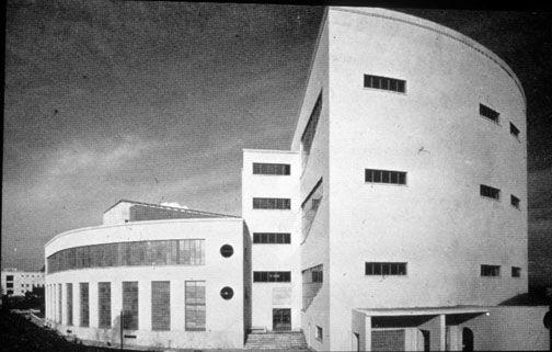 Istituto di Matematica, Università La Sapienza, Roma (Gio Ponti, 1935)