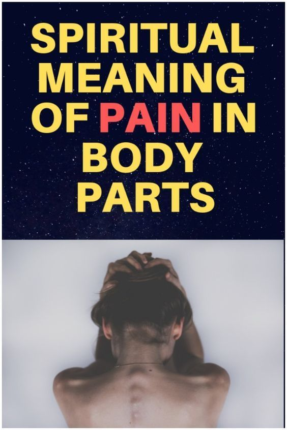 Spiritual Meaning of Pain In Body Parts | Natural Remedies