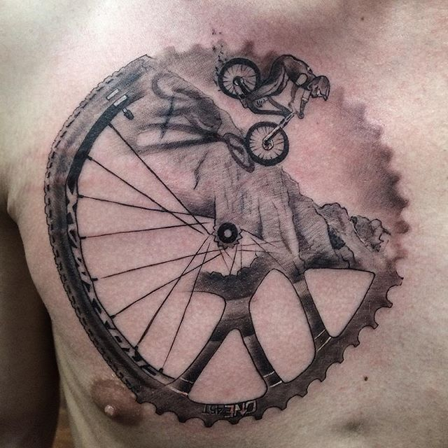 17 best ideas about bicycle tattoo on pinterest bike tattoos cycling tattoo and simple tatto. Black Bedroom Furniture Sets. Home Design Ideas