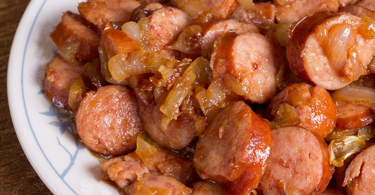 Satisfy Your Hunger With Classic Kielbasa and Caramelized Onions