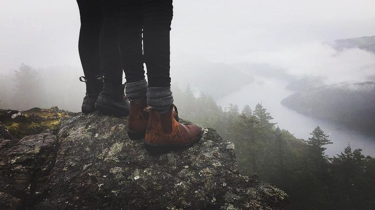 Wouldn't be Canada without a little fog and a bit of drizzle. : @yasminijjar  Location: Gowlland Tod Provincial Park, B.C.  Visit https://ehtoz.blundstone.ca/ for all contest details. #EhtoZ#blundstoneca#canada#canada150#bc#explorecanada#gadventures