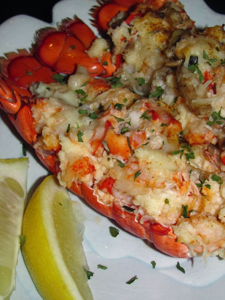 For the Love of Food: Charlie's Birthday Lobster Thermidor by @Nicole Hood