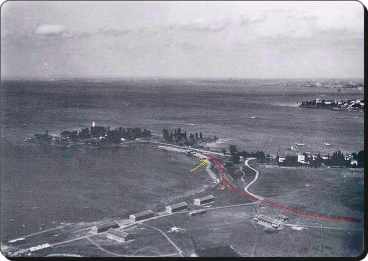 Kadıköy / Fenerbahçe,Dalyan,Kalamış ve Moda Burnu. - 1930'lar