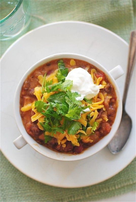 Chipotle Chicken Chili + Pioneer Woman Cookbook #giveaway