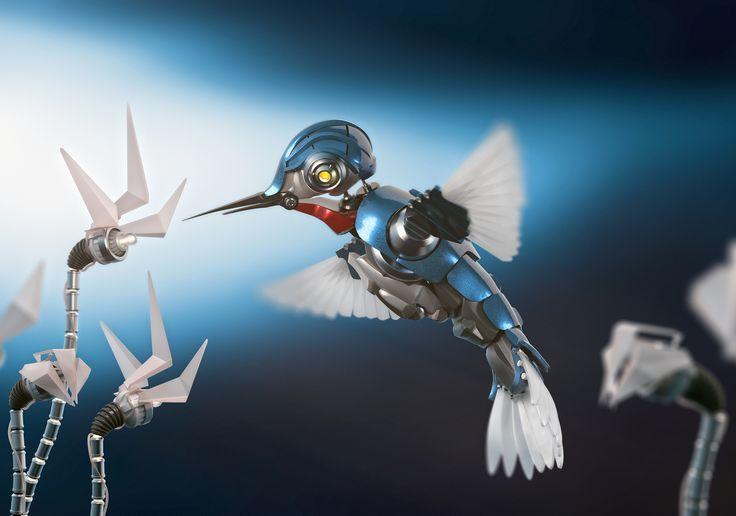 humming bird - 3D advertising 3D model
