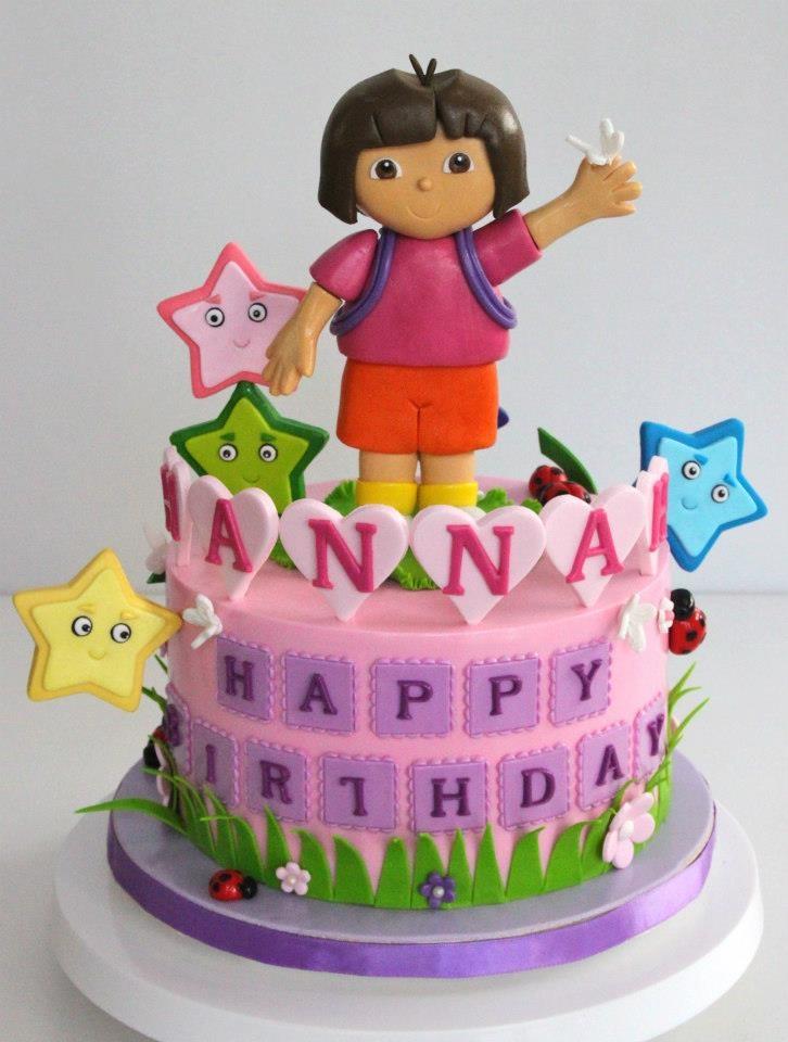 Dora Cake Toppers Singapore