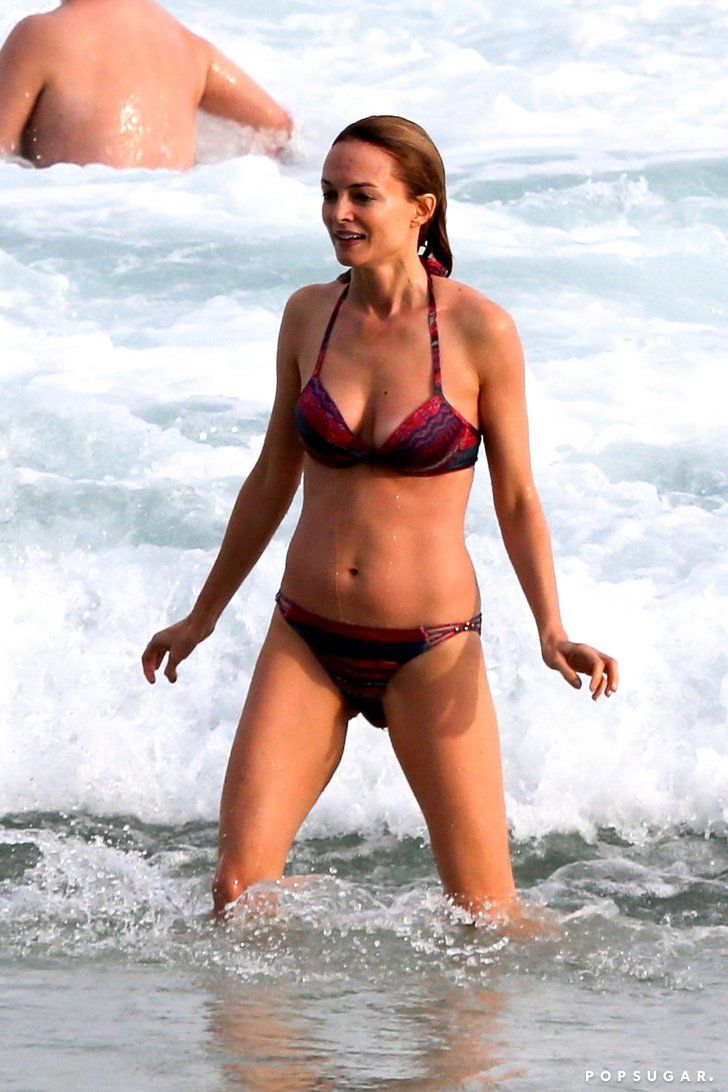 Pin for Later: Age Is Just a Number! See Hot Stars Over 40 in Bikinis Heather Graham, 46