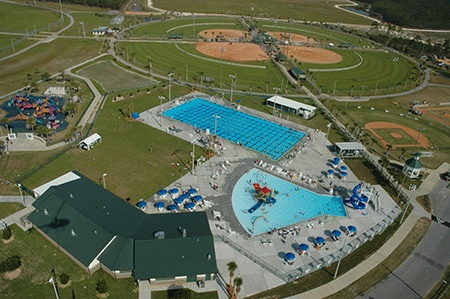 Frank Brown Park - Panama City Beach, FL - Aquatic Center, Play Ground, Multiple Sports Fields and more...