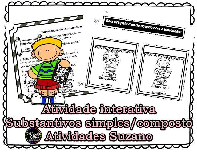 Atividade interativa: Substantivo simples/composto - Atividades Adriana