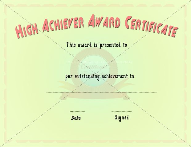 27 best Achievement Certificate images on Pinterest Certificate - building completion certificate sample