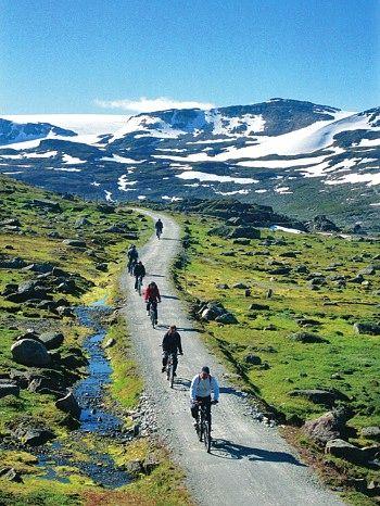 Her kan du sykle i fjellet i sommer