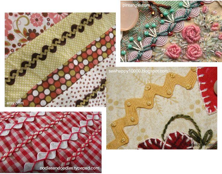 Ideias de sianinhas bordadas para decorar seus trabalhos