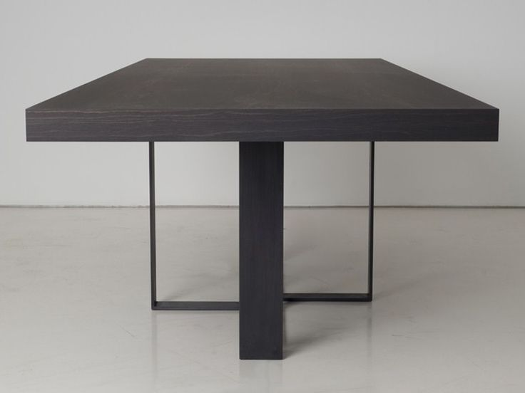Wooden dining table St Malo Collection by INTERNI EDITION | design Janine Vandebosch