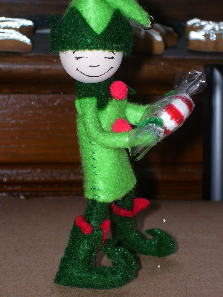 Picture Diary on Making Felt & Pipe Cleaner Christmas Elf by Busy Little Christmas Elf