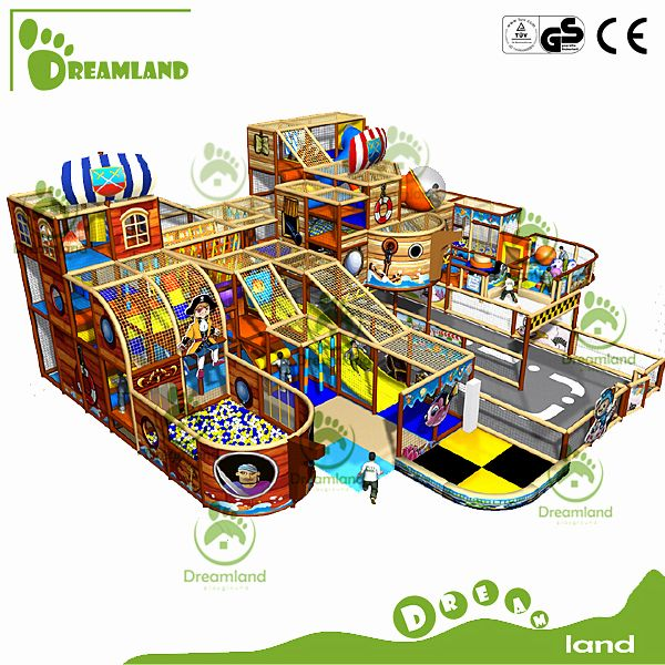 Pirate ship design indoor playground equipment welcome to contact us for customizing. nora@dreamlandplayground.com