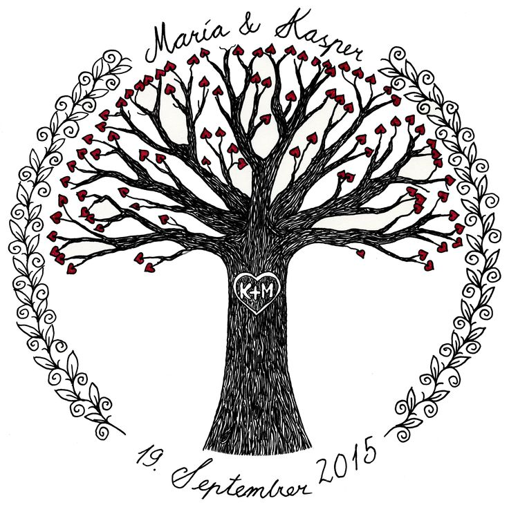Wedding card no. 2 copyright Sandy Rosenvinge Lundbye 2015