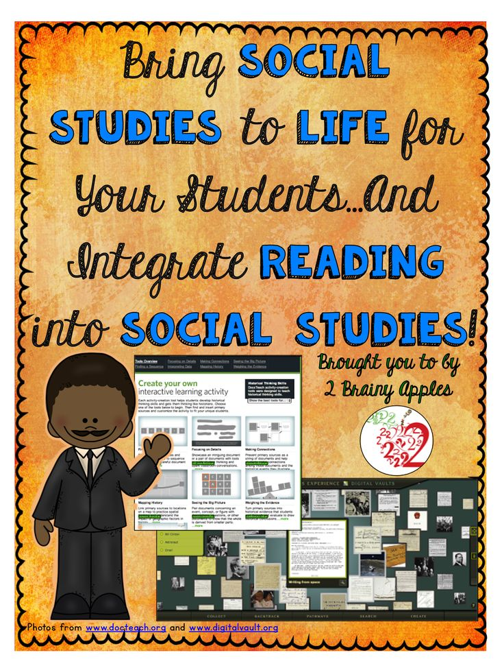 How to Bring Social Students to Life: Ways to integrate reading into the social studies classroom.
