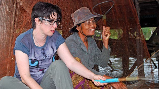 Sue Perkins embarks on a life-changing, 3,000-mile journey up the Mekong.