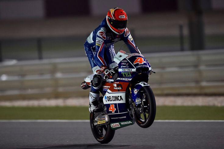 Moto3: первая ночь свободной практики для дуэта из GRESINI RACING TEAM MOTO3 в Катаре. | GP RACING